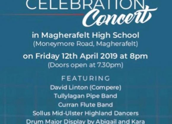 Cranny Pipe Band Centenary Celebration Concert – Friday 12th April