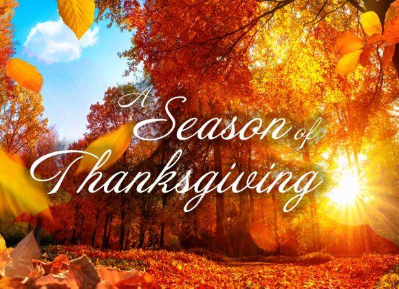 A Season of Thanksgiving // Part 8 // Union Road Harvest Thanksgiving 2