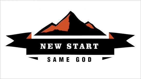 Mountain graphic | New Start Same God