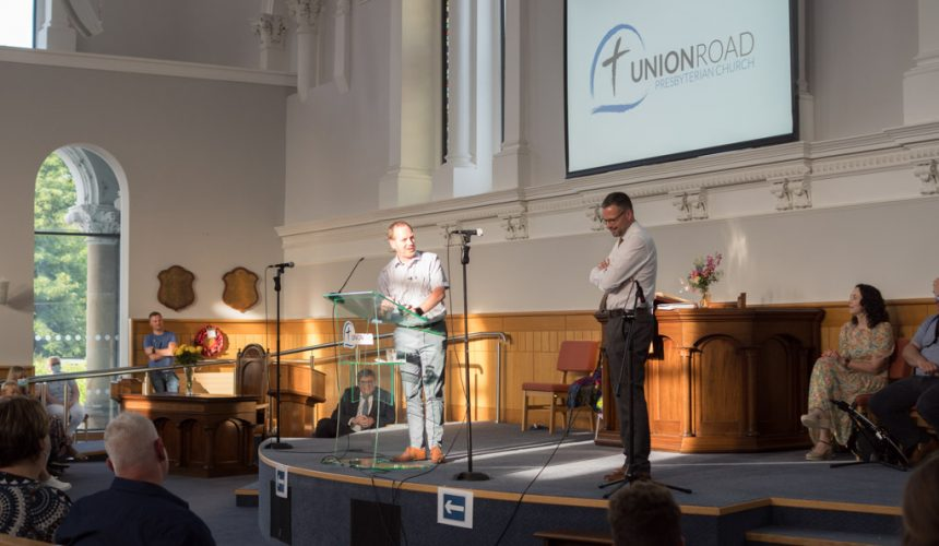 Rev David Leach's Last Sunday at Union Road